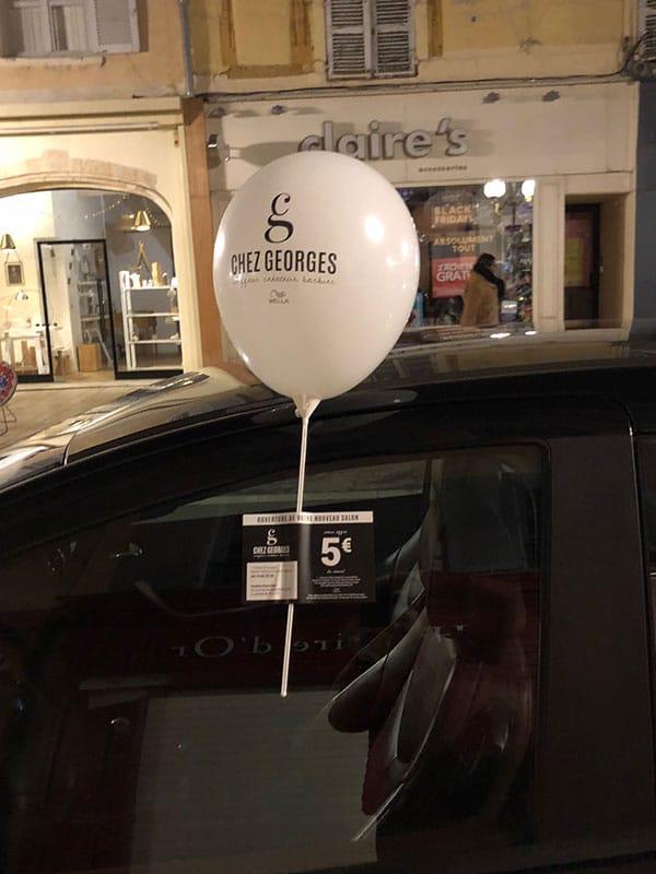 Opération ballons Chez Georges